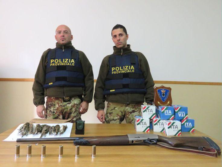 Controlli venatori: la Calabria maglia nera d'Italia