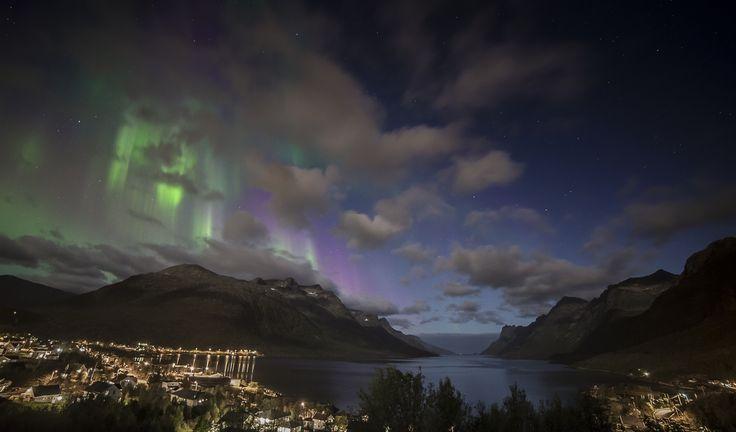 Ersfjordbotn by night by Zoltan Tot on 500px