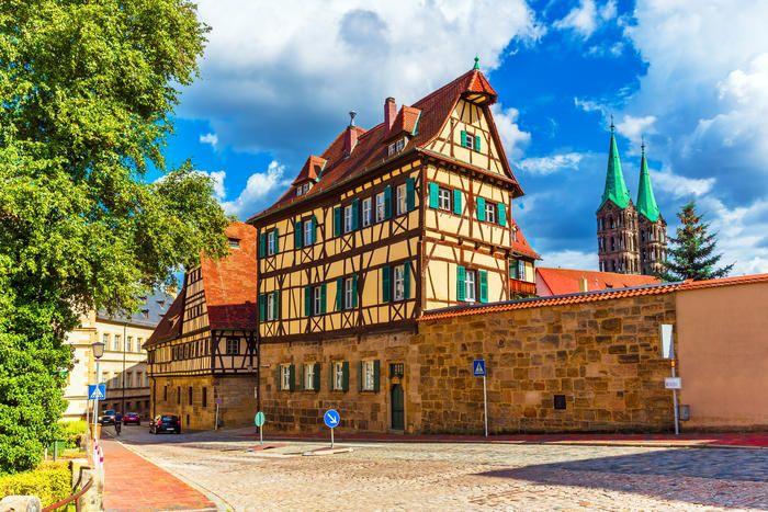Die Schonsten Fachwerkauser Das Haus Bamberg Germany Timber Frame Construction
