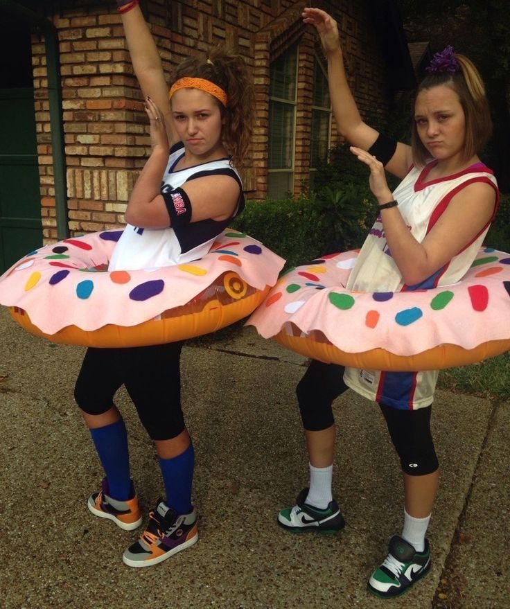Dunkin' Donuts Punny Halloween Costume