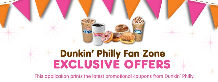 $0.49 Dunkin Donuts Medium Iced Coffee Coupon Available for the DunkinPhilly area.
