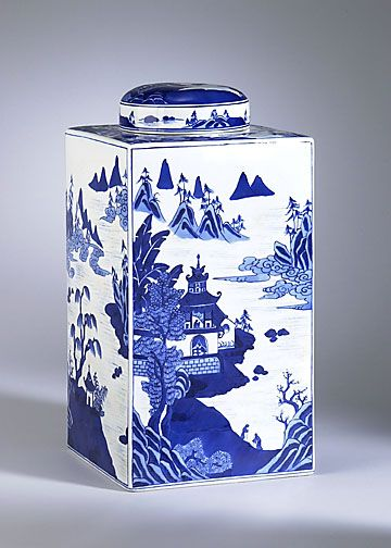 CANTON TEA CADDY