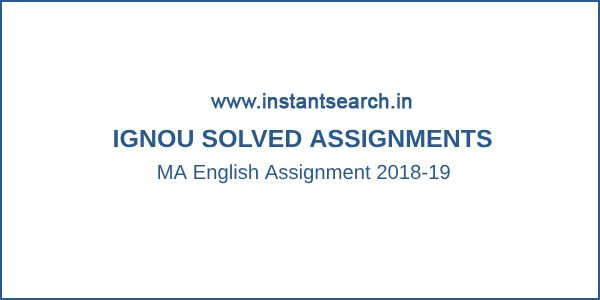 Ignou Ma Sociology Solved Assignments 2019 20 Sociology
