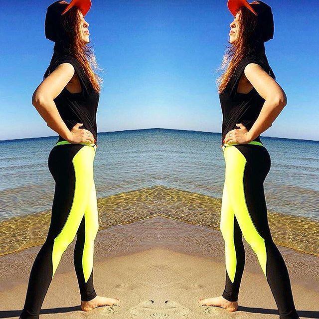 Treningowo i wakacyjnie 🌅 dla Was nasza słodka 💕💕#gothicpharmgirl @ewa_hoszko 😘 w legginsach z kolekcji NEON YELLOW XTREME 💛 Te oraz wiele innych modeli znajdziecie na 👉www.gothicpharm.com  #gothicpharm #gothicpharmteam #fitness #fitnessmotivation #fitnessgirl #fitnesslife #fitnesslover #fitnessgirls #legginsy #legginslove #legginsmania #leginsy #snapbag #photography #trening #treningowo #silownia #motivation #plaża #wakacje #odpoczywamy #body #gymbody #fitgirl #fitgirls #polishgirl…