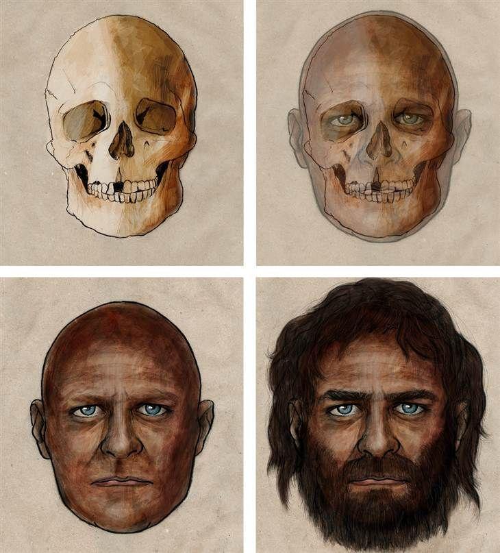 Dark skin, blue eyes: Genes paint a picture of 7,000-year-old European (Photo: Pelopanton / CSIC)