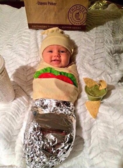 This will be my baby's first Halloween costume