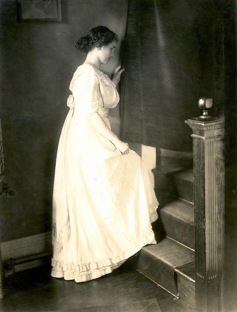 Helen Keller at Perkins School for the Blind.