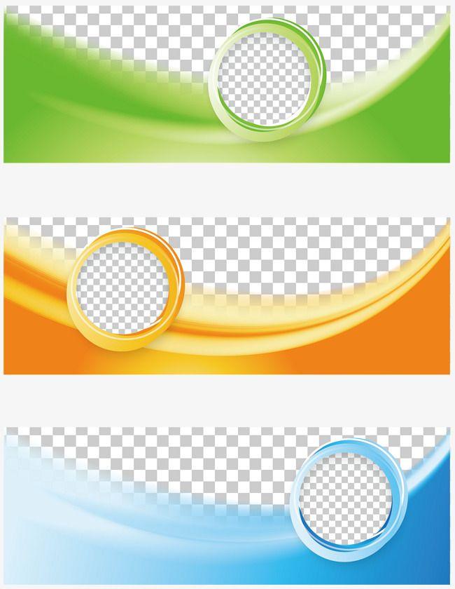 la bandera tricolor de negocios  vector png  banner