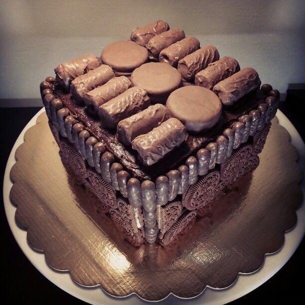 Bundt cake/pasión por el chocolate/oreo