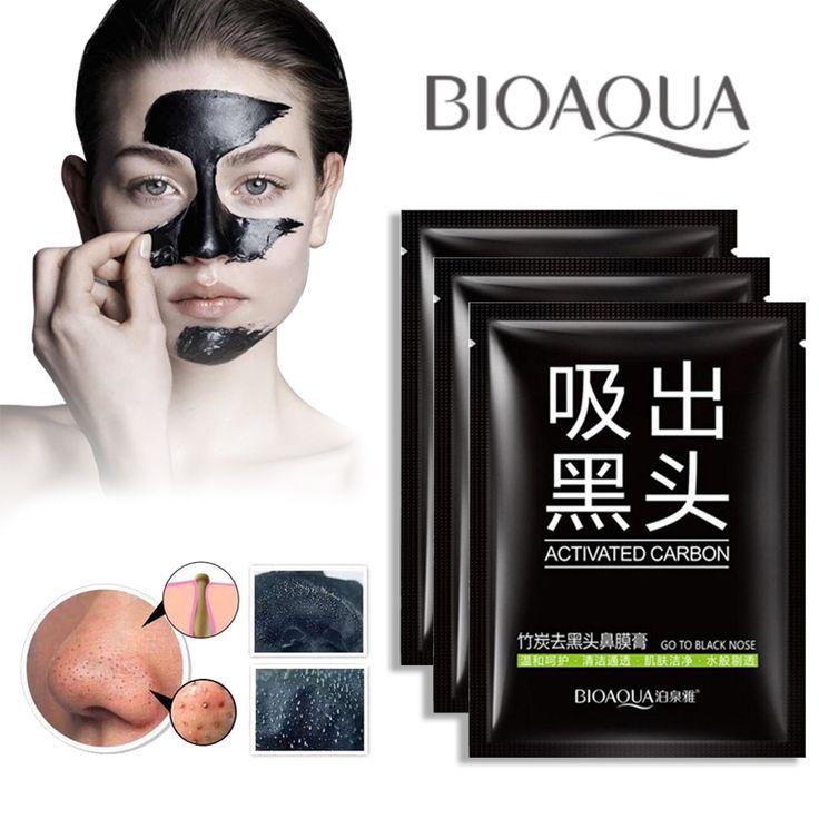 Schwarze maske gesicht masker kopf punkte noirs holzkohle entferner akne maske mitesser removedor de cravo facial peel off masque