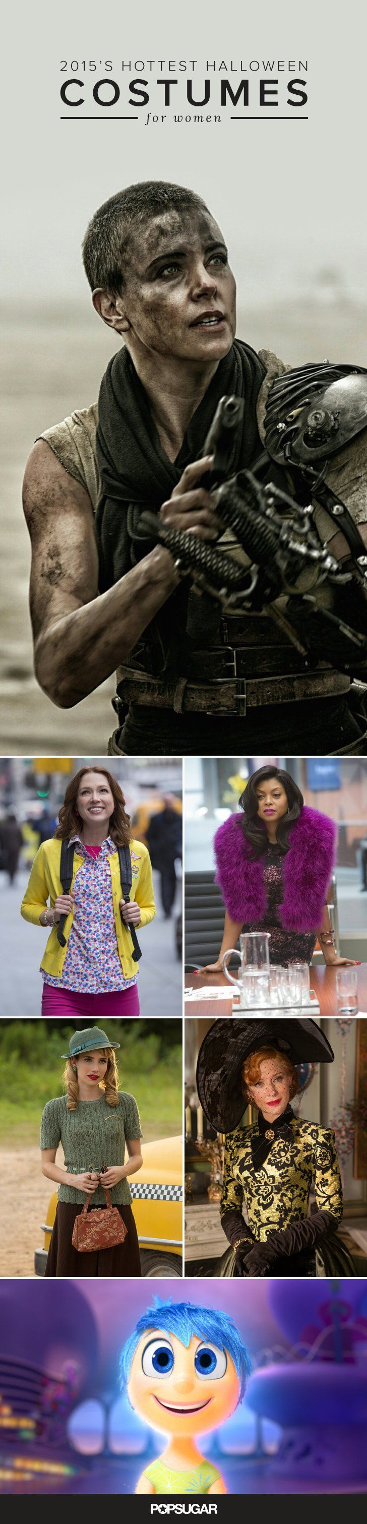 Pin for Later: This Year's Hottest Pop Culture Halloween Costumes For Women Halloween Costume Ideas For Women