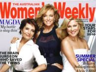 womens-weekly-cover Hair & Makeup by Suzi White w.thewhitehouseproductions.com w.hollywoodbrows.com.au
