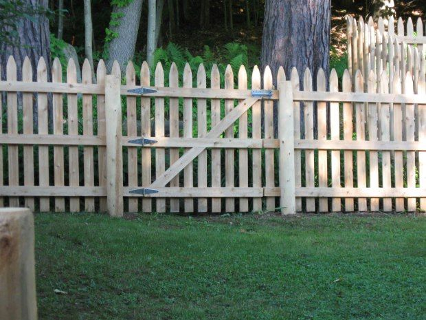 Picket Fence Gate Plans