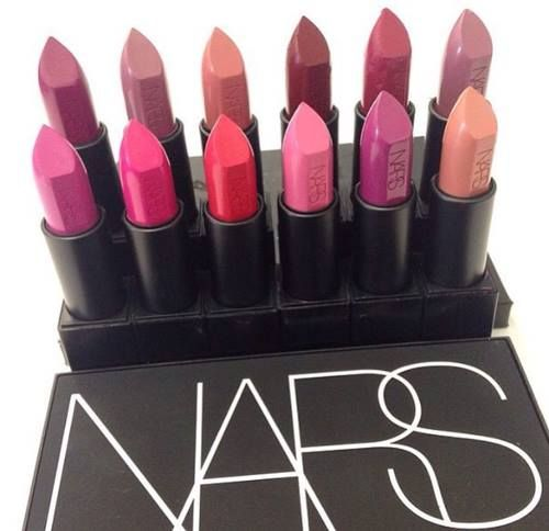 Perfect color of NARS lipstick. #nars #lipstick #makeup