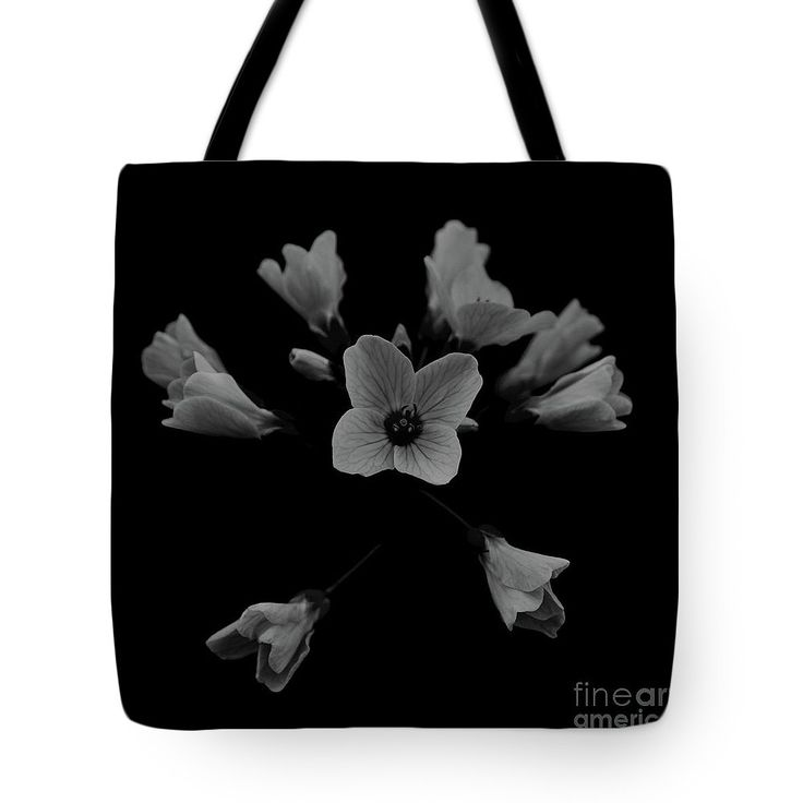 Cuckooflower Tote Bag by Sverre Andreas Fekjan.  The tote bag is machine washable, available in three different sizes, and includes a black strap for easy carrying on your shoulder.  All totes are available for worldwide shipping and include a money-back guarantee.