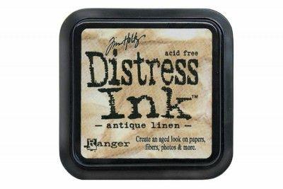 Tim Holtz Distress Ink Pads Antique Linen - Ink Pads - Craft Rubber Stamps