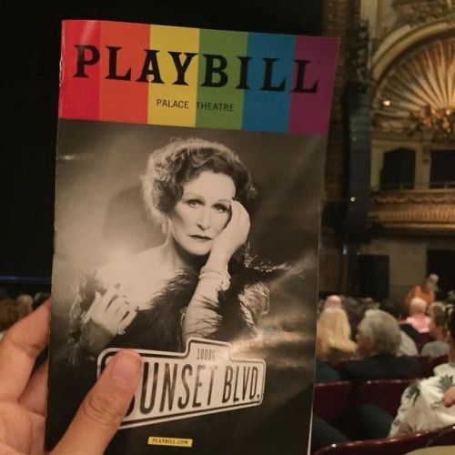 Ready for Sunset Boulevard play  #broadway #broadwayshow...