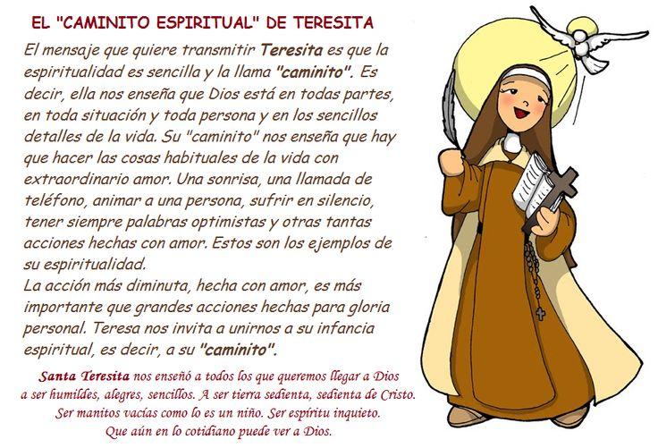 Foto: 26° DEL TIEMPO ORDINARIO   1° de Octubre - SANTA TERESITA DEL NIÑO JESÚS, PATRONA DE LAS MISIONES Y DOCTORA DE LA IGLESIA.