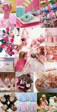 Cute ideas for a girl sleepover party! #Home