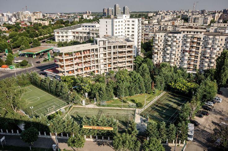 Vedere spre Delta Văcărești - Bulevardul Gheorghe Șincai © Mihai Petre