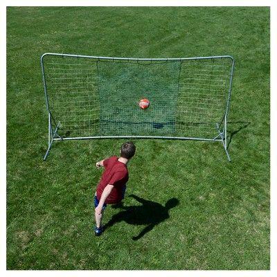 Lion Sports 12'x6' Heavy Duty Soccer Rebounder, New White