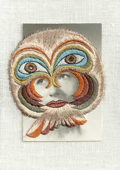 Stacey Page -melanie embroidered photography