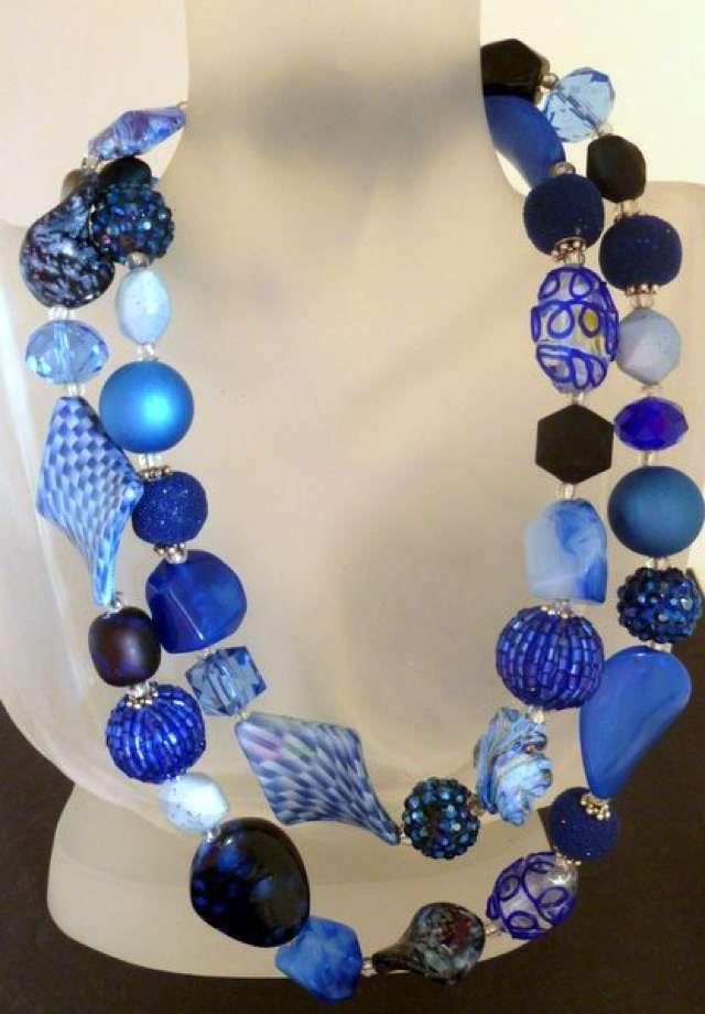Handmade Designer Statement Necklaces for Evening Wear, Shawls