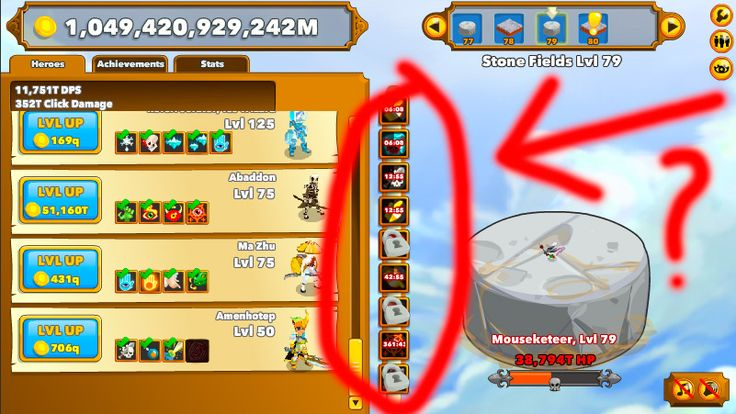 Clicker Heroes Hack download and get unlimited Gold, DPS and autoclicker