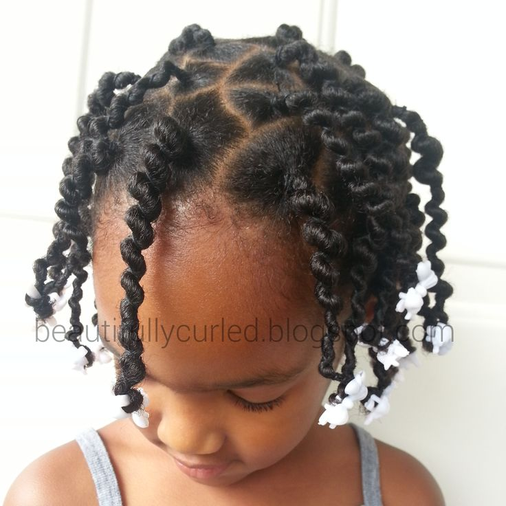 ..........Beautifully Curled..........: First Attempt: African Hair Threading/Ghana Plaits