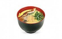 Японский сливочный суп из креветок