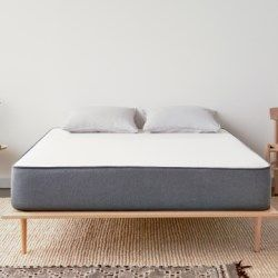 The Casper mattress company launched in 2014 and they have received widespread media coverage. The Casper mattress is a combination of three types of foam (latex/memory/poly) and it is delivered directly to your door in a vacuum sealed package. Consumer ratings are fairly good to date and most owners like how easy it is to setup and feel it is good value for money.