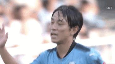 Miyoshi Koji of Kawasaki Frontale. J League.  B.P.S.ではありません。 My edit, my gif.