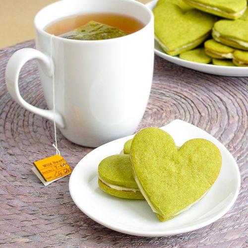 Honey & Green Tea Cookies