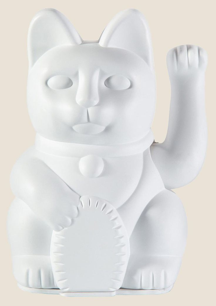 Maneki Neko Lucky Cat Solar Farbe Fur Kunststoff Kuche Fenster Winkekatze