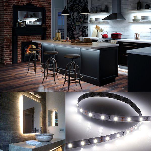 Under Cabinet Led Flexible Light Strip Kit 500 Cm: Best 25+ Led Light Strips Ideas On Pinterest