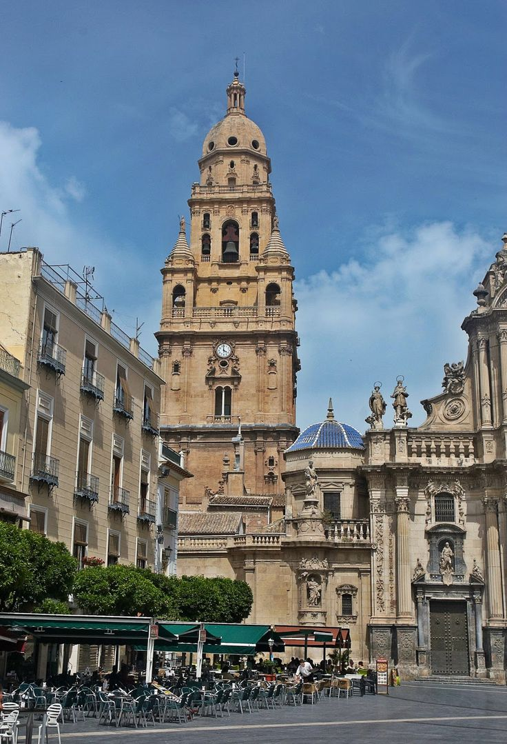 wieża Katedra w Murcji hiszp. Catedral de Santa María