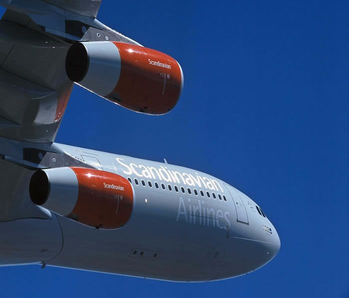 SAS Airlines Airbus A340
