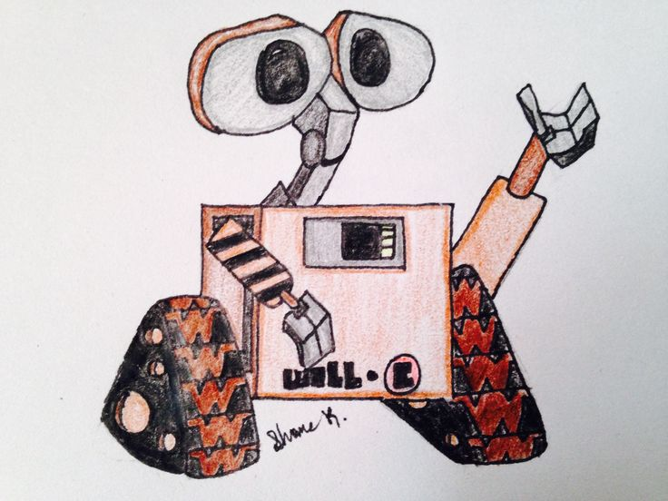 Wall-E By Shane K