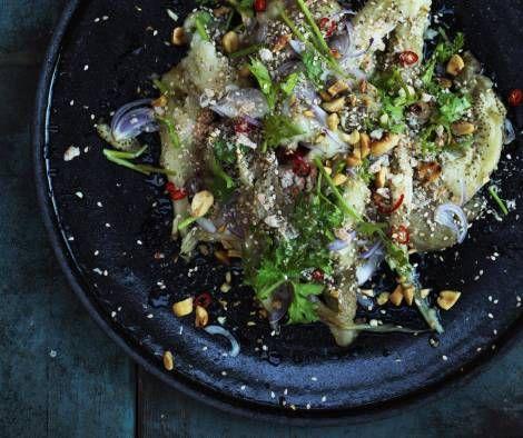 Burmesisk auberginesalat