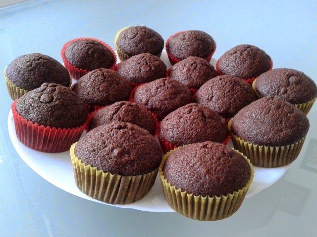 Gluten free life: Banánovo-čokoládové muffinky
