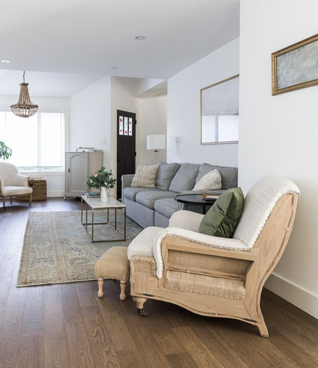 Simply White By Benjamin Moore The Best White Paint Color In 2021 Narrow Living Room Long Narrow Living Room Rectangular Living Rooms