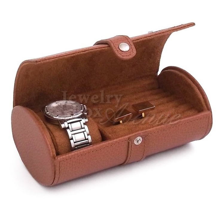 43 best images about men s watch boxes jewelry rolltop desk travel watch and cufflink case only 49 95 plus shipping