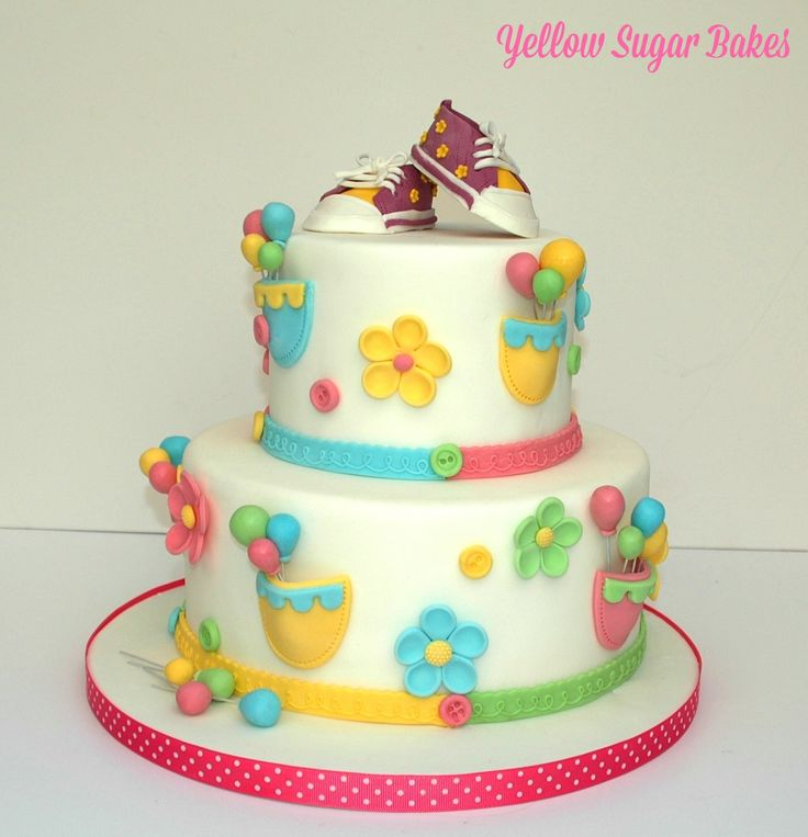 All Stars themed Christening cake