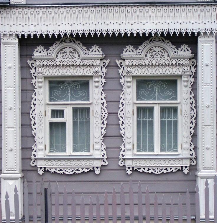 Окошко дома в Коломне