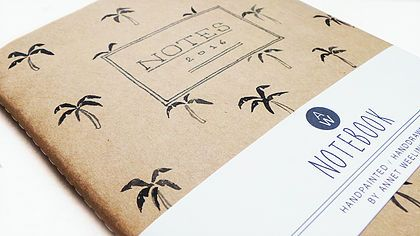 Notebook Palmtrees