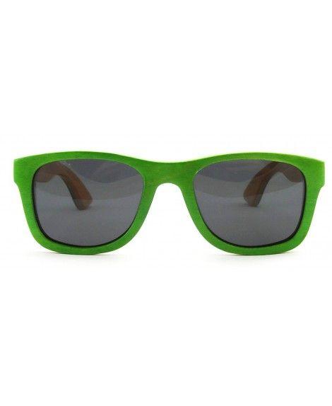 582e2c05b8 Handmade Polarized Wood Sunglasses Skateboard Wooden Sun Glasses ...