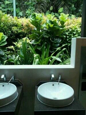 싱가폴 보타닉가든의 화장실