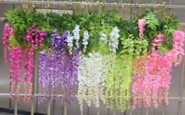 flower garland wedding decor Richview Glass