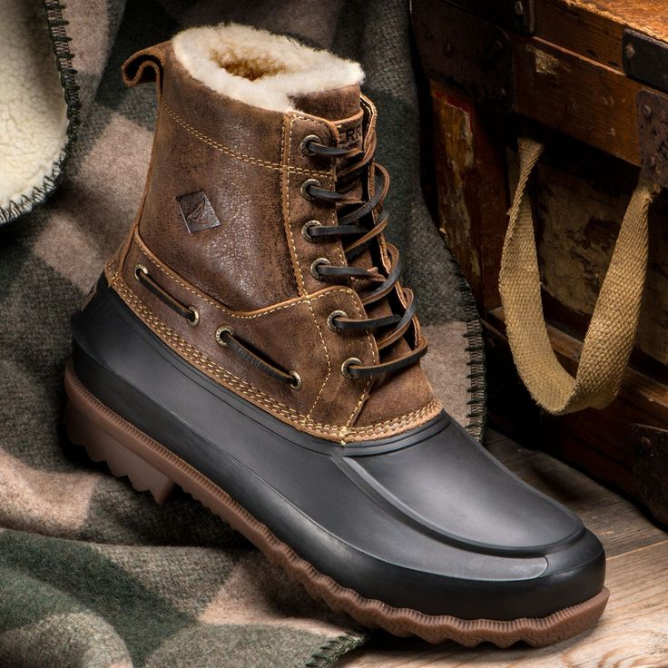 Sperry Men's Shearling Lined Duck Boot