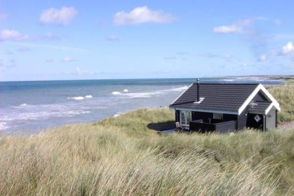 Direkt am Meer steht dieses Ferienhaus Dänemark Lönstrup